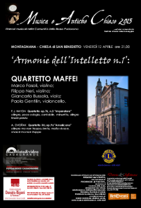 Armonie dell'Intelletto N°1 - Quartetto Maffei