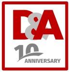 Logo decennale D&A